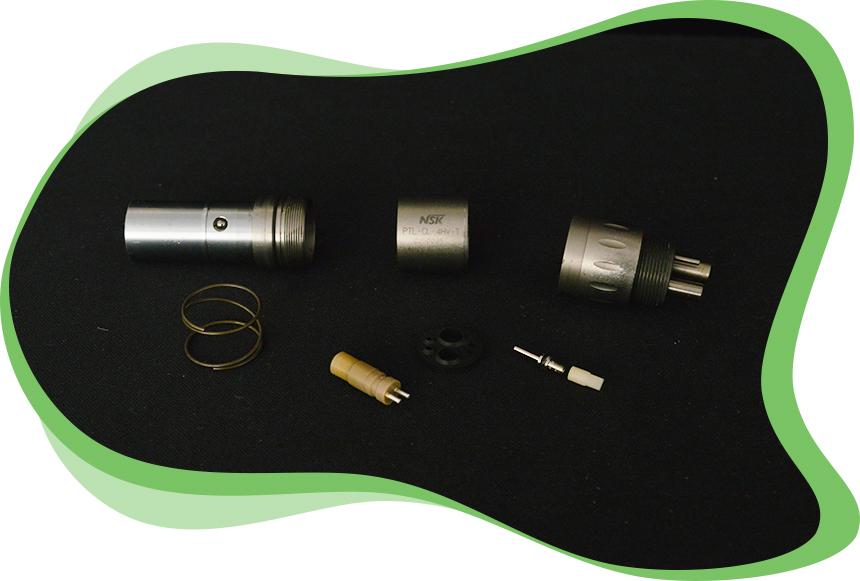 L'atelier dmd Réparations d'Instruments Dentaires - Etapes Réparation d'un Raccord Rapide