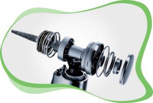 Panne turbine dentaire : le rotor, l'âme de votre turbine