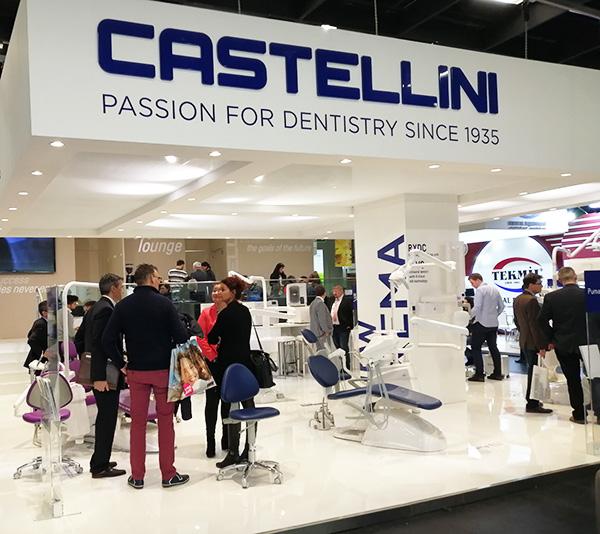 Stand Castellini - Salon International de l'IDS 2019