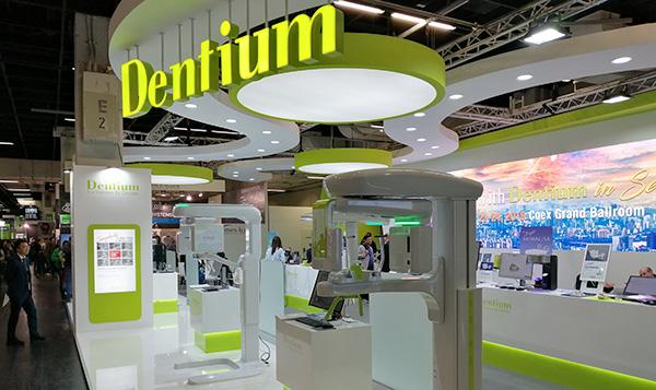 Stand Dentium - Salon International de l'IDS 2019