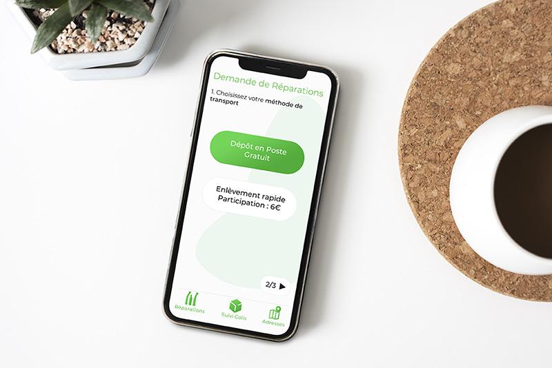 L'app dmd : unique et intuitive