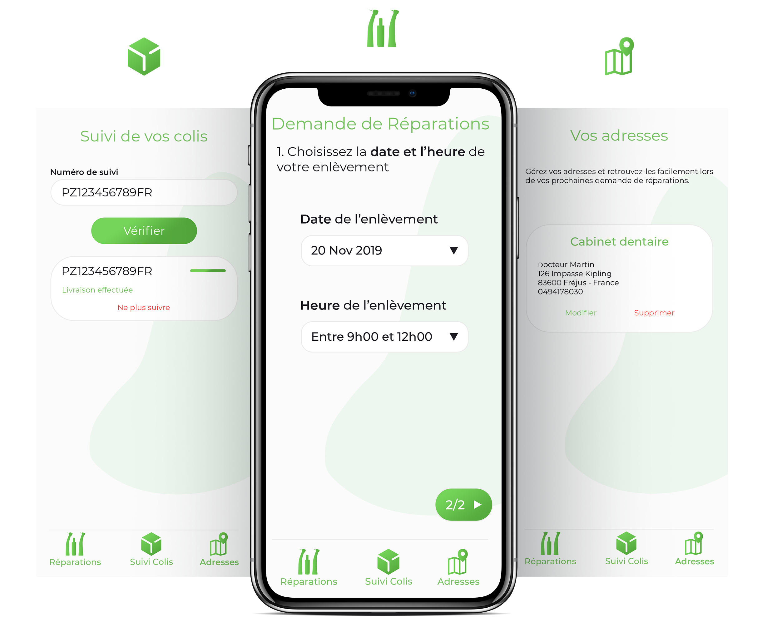 L'app dmd : Fonctionnement de l'application